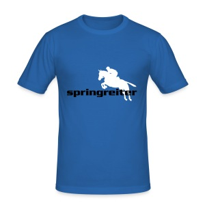 Springreiter - Männer Slim Fit T-Shirt