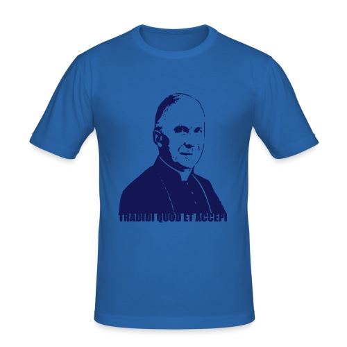 Mgr Lefebvre - T-shirt près du corps Homme