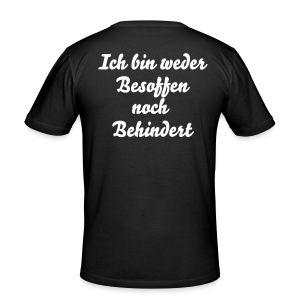 Männer Shirt - Männer Slim Fit T-Shirt