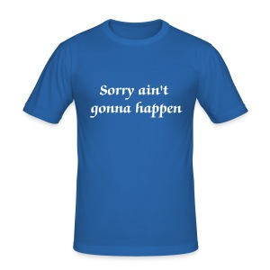 slim fit T-shirt - Sorry