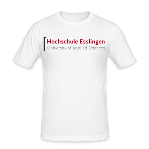 Männer Slim Fit - Graduate School - Männer Slim Fit T-Shirt