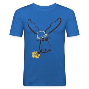 Elch Shirt *Hugo* - Männer Slim Fit T-Shirt