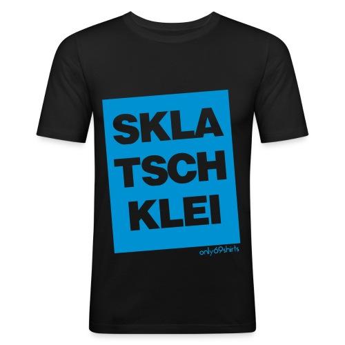 SKLATSCHKLEI - Männer Slim Fit T-Shirt