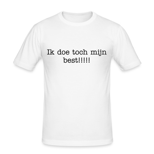 Je best doen - slim fit T-shirt