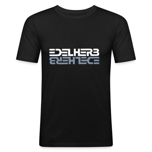 EDELHERB Slim Metallic - Männer Slim Fit T-Shirt