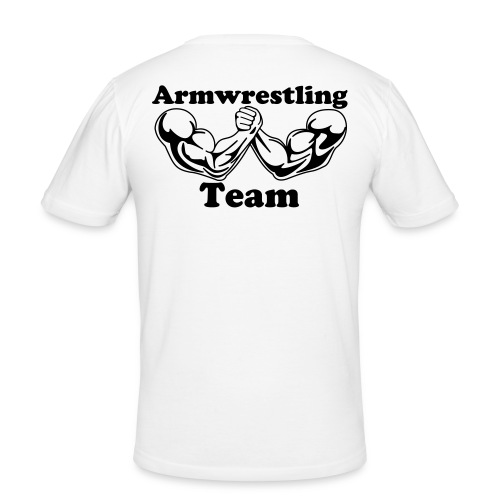 Armwrestling T-shirt, template - Men's Slim Fit T-Shirt