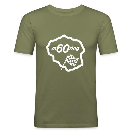M60Ring - Race Track - Men's Slim Fit T-Shirt