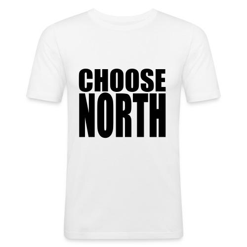Choose North - Men's Slim Fit T-Shirt