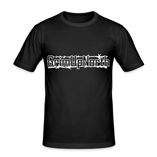 Barbed Wire - Men's Slim Fit T-Shirt