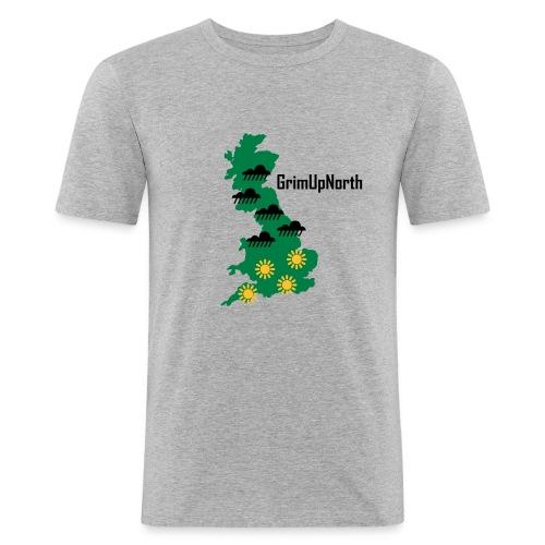Northern Weather - Men's Slim Fit T-Shirt