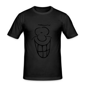 MIMIK - fröhlich - Männer Slim Fit T-Shirt