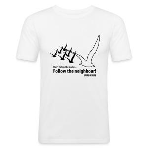 Emergence | Zwart | M | Slim Fit - slim fit T-shirt