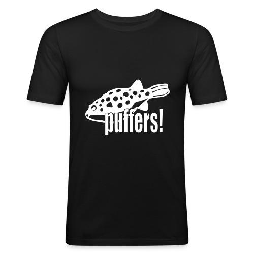 Kulefisk - velg farge! - Slim Fit T-skjorte for menn
