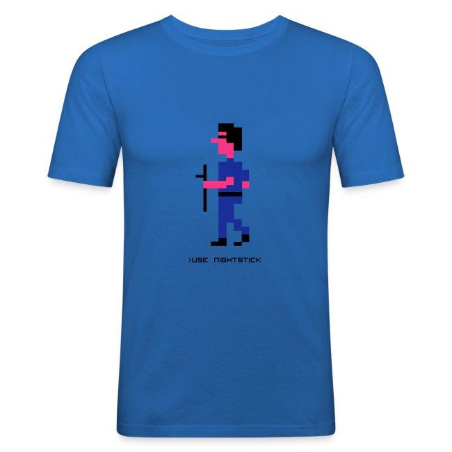 Police Quest - Slimfit Sonny Bonds T-shirt