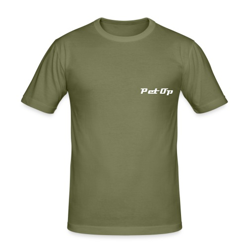 Olive T-Shirt - Men's Slim Fit T-Shirt