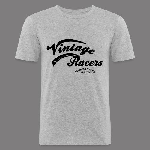 VR Logo T-shirt grey - T-shirt près du corps Homme