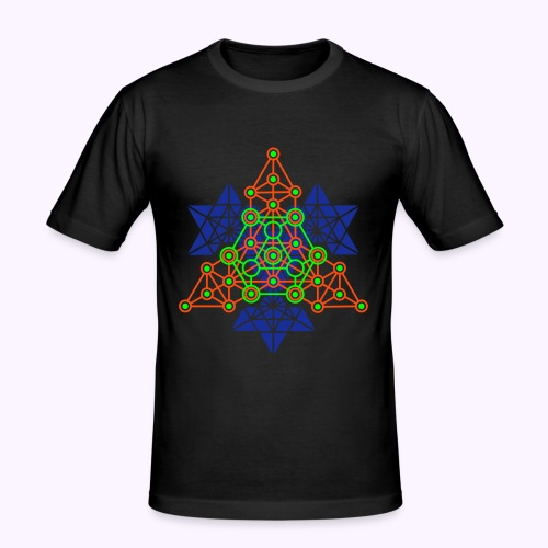 Equilibrium Tree 4 Slim Fit - Men's Slim Fit T-Shirt