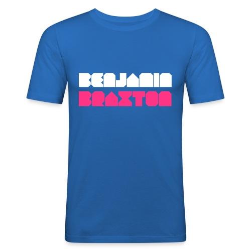 BRAXTON WHIET/PINK - T-shirt près du corps Homme