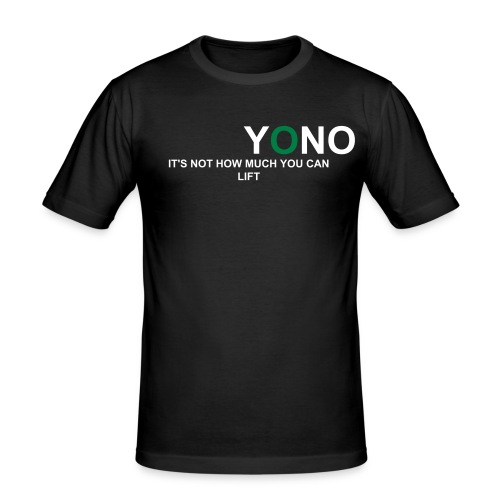 YONO gymwear - Men's Slim Fit T-Shirt