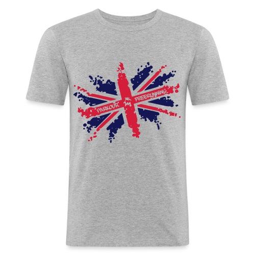 M2unionjack - Männer Slim Fit T-Shirt