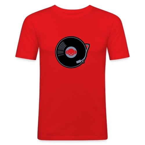 DJ-Toney record A-side - slim fit T-shirt
