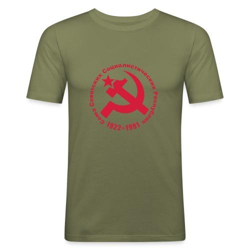 Soviet 1922-1991 Slim Fit Tee - Men's Slim Fit T-Shirt