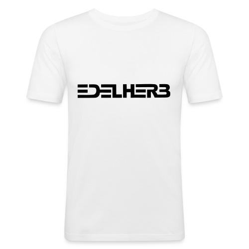 T-shirt weiß - Männer Slim Fit T-Shirt