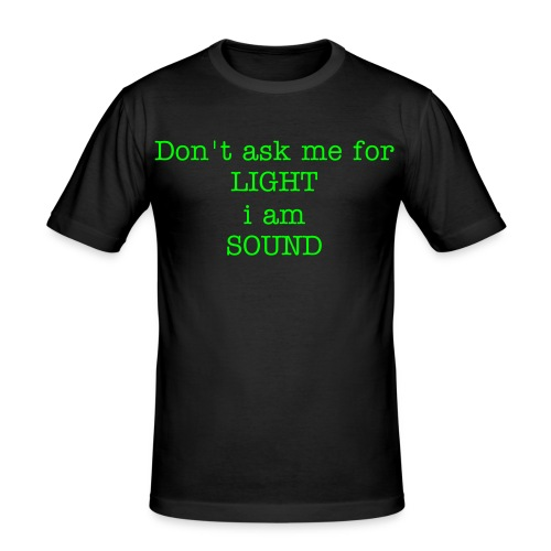 Ron's Wear(Men)  dont ask me black/green - slim fit T-shirt