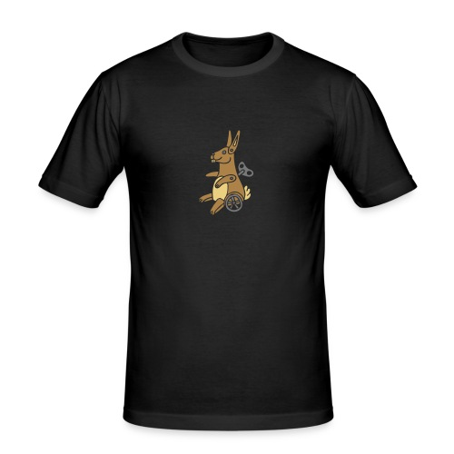 Easter Bunny Osterhase Ostern Osterei Eggs Oster - Männer Slim Fit T-Shirt