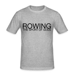 Rowing. The Sport Of Gods - Men's Slim Fit T-Shirt