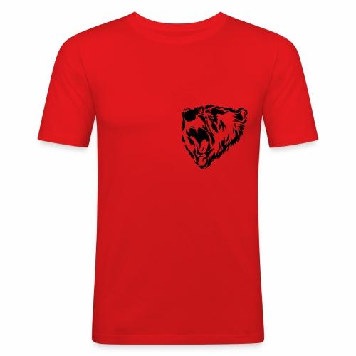 Russischer Bär - Männer Slim Fit T-Shirt