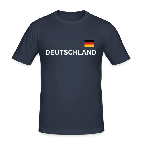 WM Fan Shirt - Männer Slim Fit T-Shirt