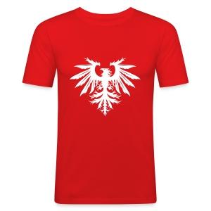 Men's Slim Fit T-shirt - Red - Men's Slim Fit T-Shirt