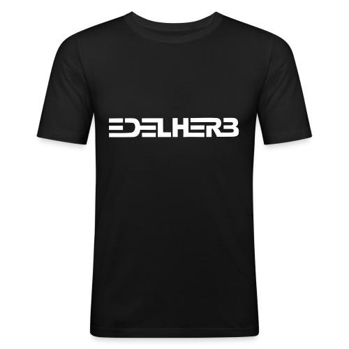 T-shirt schwarz - Männer Slim Fit T-Shirt