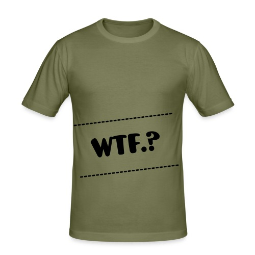 WTF.? - slim fit T-shirt
