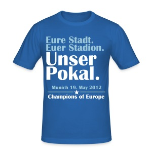 Unser Pokal - Men's Slim Fit T-Shirt