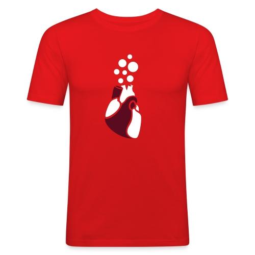 BubbleHeart - RunTEE - Men's Slim Fit T-Shirt