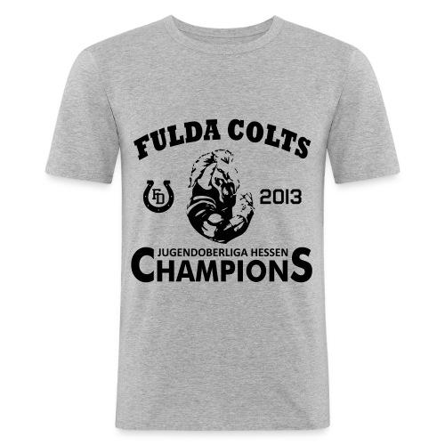 Fulda Colts 2013 Champions T-Shirt - Männer Slim Fit T-Shirt