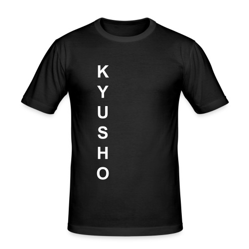 Kyusho-Shirt - Männer Slim Fit T-Shirt