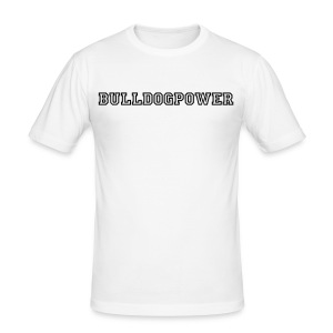 Bulldog Power - Männer Slim Fit T-Shirt