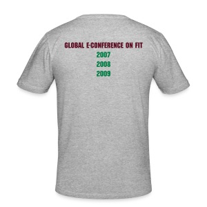 Virtual Conference Delegate - Men's Slim Fit T-Shirt