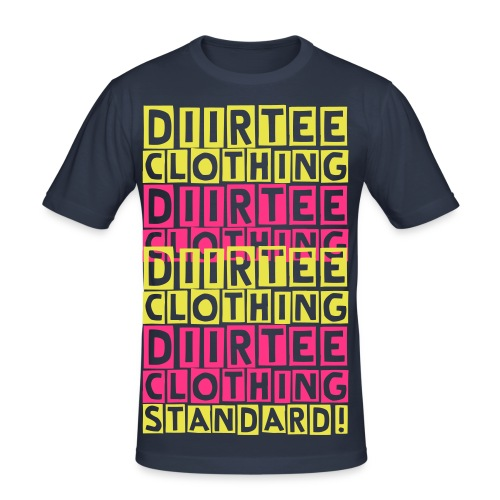 Diirtee Clothing Standard (Y/P) - Men's Slim Fit T-Shirt