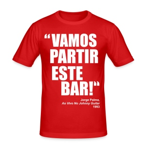Vamos Partir Este Bar! - Men's Slim Fit T-Shirt