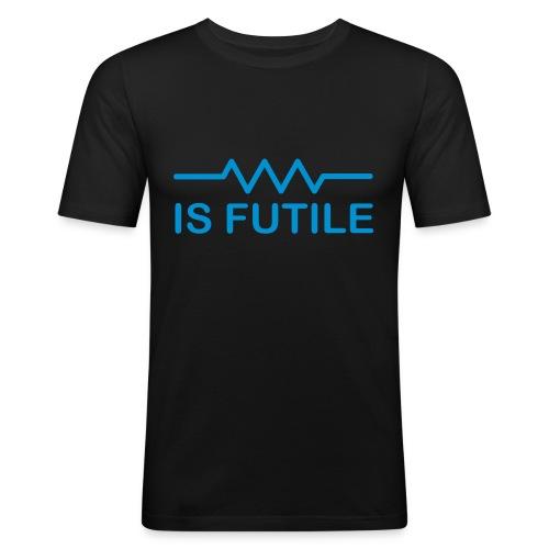 Resistance Is Futile - Men's Slim Fit T-Shirt