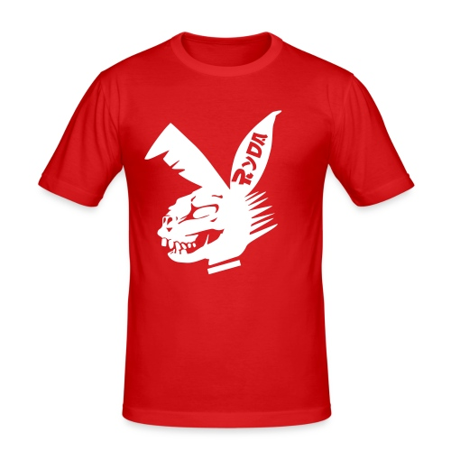 Ryda T-shirt R/W - Männer Slim Fit T-Shirt