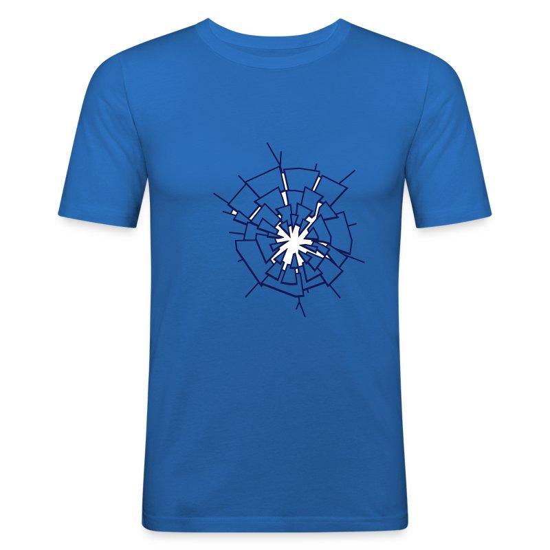 Shatter Crack Break - Men's Slim Fit T-Shirt