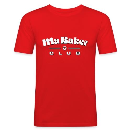 Ma Baker Slim Fit T-Shirt - Männer Slim Fit T-Shirt
