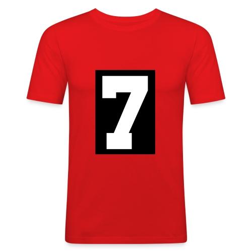 "Edge Shirt ""7"" - Men's Slim Fit T-Shirt"