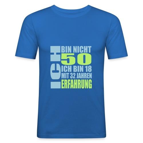 Zum 50. Geburtstag - Männer Slim Fit T-Shirt