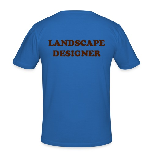 LANDSCAPE DESIGNER 2 - Men's Slim Fit T-Shirt